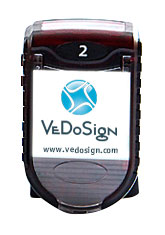Top View Pager mit Display